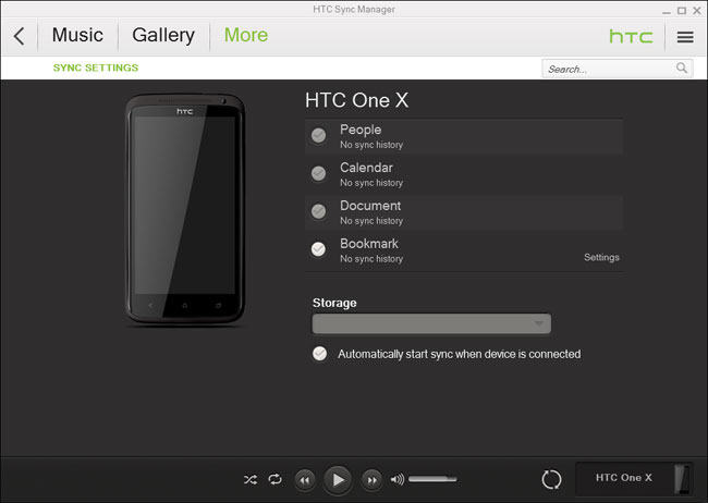 transfer data from HTC to Blackberry