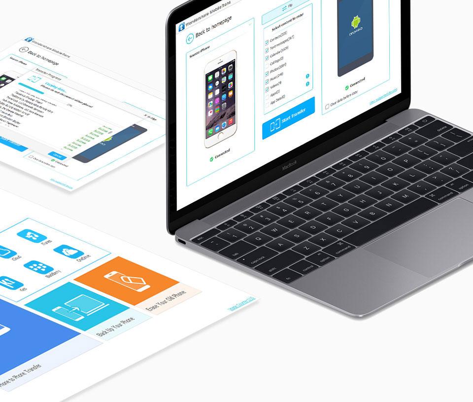 Wondershare MobileTrans for Mac 6.9.4.74 破解版 - 手机备份软件