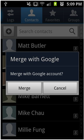 how to delete mobile contacts from gmail
