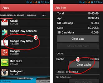 Android. Process. Media-clear cache