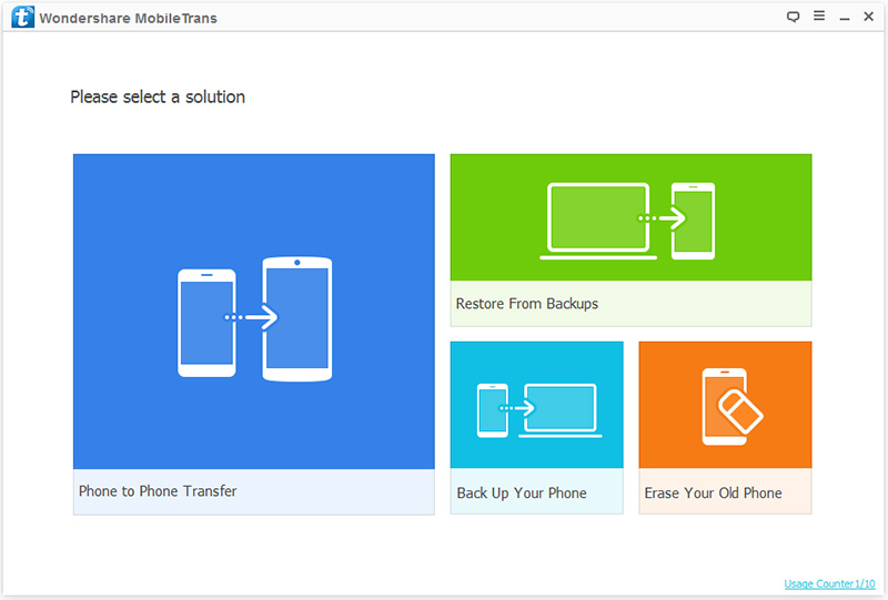 how to transfer apps to Android 4.4, KitKat-install mobiletrans