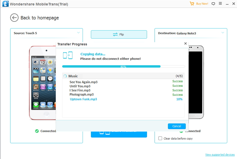 transfer music from iPad to iPod