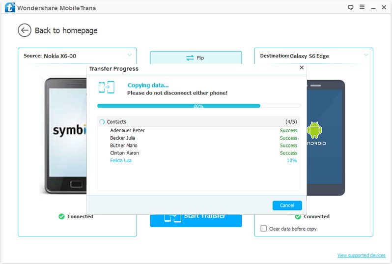 How to Transfer Photos, SMS, Video and Contacts from Symbian