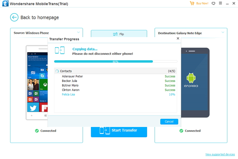 transfer from Winphone to Android-transfer from Windows phone to Android
